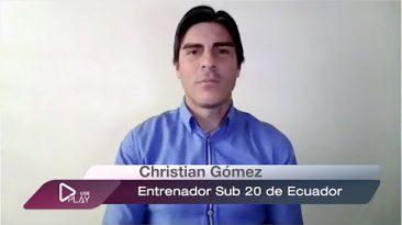Cristian Goméz entrevista deportista ecuatoriano